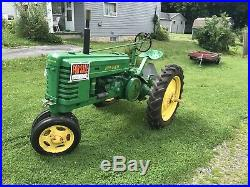 1941 John Deere H Antique Tractor NO RESERVE Very Nice Lightly Used