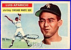 1956 Topps Luis Aparicio Rookie RC #292 EX VERY NICE HOF White Sox