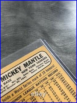 1968 Topps Mickey Mantle New York Yankees #280 Baseball Card Very Nice Card