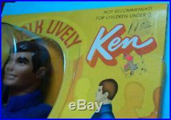 1971 Walk Lively Ken Near Mint In Sealed Orginal Box Very Nice Set