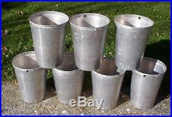 30 Aluminum Sap Buckets Maple Syrup Bucket VERY NICE