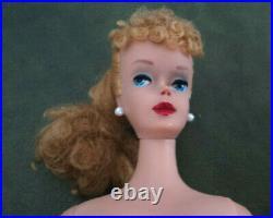 #4 Blond Barbie Pony Tail Re Done Very Nice
