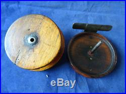 A Very Nice Early Vintage Victorian Wooden Nottingham Reel