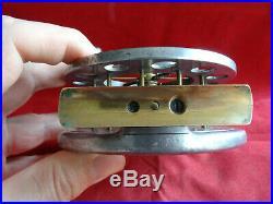 A Very Nice Vintage 4 1/2 Kenny Kendal Aerial Model Centrepin Reel