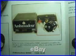 AMBASSADEUR 5000c VINTAGE 4 SCREW VERY NICE
