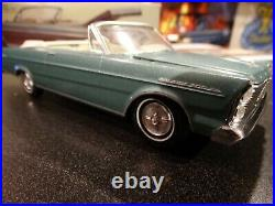 AMT 1965 Ford Galaxie convertible very nice old build Box included