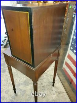 ANTIQUE CAMPAIGN DESK SMALL FOLD DOW DESK With ONE DRAWER VERY NICE