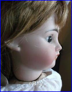 Adorable Fleischmann bisque antique French doll, complete, very nice eyes