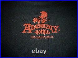 Alchemy Gothic 1994 Vintage Shirt (Used Size L) Very Nice Condition