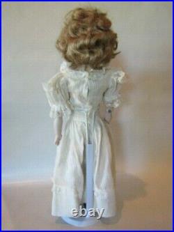 Antique 16 Kestner Turned Shoulder-head Bisque Doll Kid Body Very Nice
