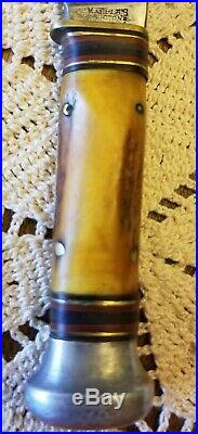 Antique 1920s Vintage Marble's Stag Woodcraft & Case Very Nice, MSA