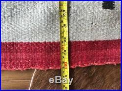 Antique, 24 Whirling Logs, large, Navajo Rug, Blanket, Weaving, very nice