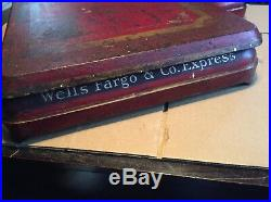Antique All Original Cast Wells Fargo Express Scale By Howe No5058 Very Nice
