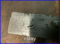 Antique Bench Vice Stanley Victor 746 NEW BRITAIN USA Very Nice