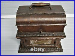 Antique Columbia Graphophone Deluxe Oak Case 1902 Model AO Case Only Very Nice