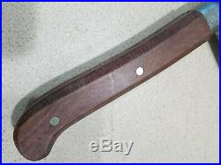 Antique Foster Bros Meat Cleaver Butcher KNIFE / Hog splitter 16 VGC VERY NICE