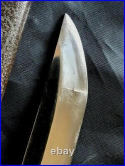 Antique Japanese Edo Samurai Tanto Nice Old Blade In Very Good Fitting