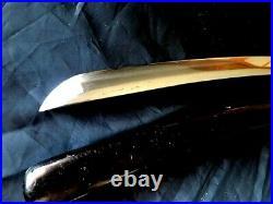 Antique Japanese Edo Samurai Wakizashi Nice Old Blade In Very Good Fitting