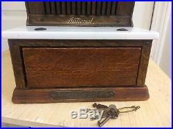 Antique National Cash Register Model 711 Very Nice