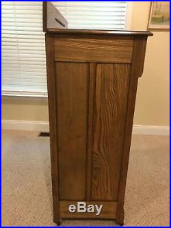 Antique Oak Chest of Drawers Rope Details- Very Nice