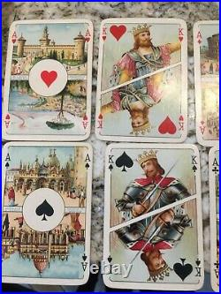 Antique Playing Cards c1923 Dante and Beatrice very nice condition RARE