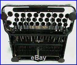 Antique Portable Typewriter Corona #3 Original Case! Very Nice! C. 1910