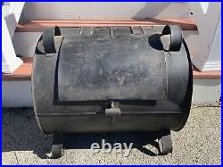 Antique Tin Oven Reflector Hearth Roaster Fireplace No Through Rust! Very Nice