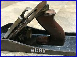 Antique Vintage VERY NICE Metal Stanley Bailey No. # 7 Wood Planer
