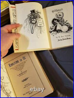 Antique wizard of oz book collection very nice rare books