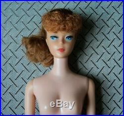 BEAUTIFUL RED HEAD BARBIE PONY TAIL VERY NICE DOLL 1960s VINTAGE