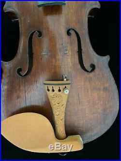 Beautiful Antique Violin Joh. Strauss Jr. Wien. Very Nice No Reserve