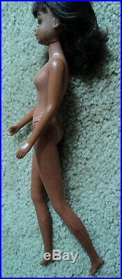 Black Francie Doll Very Nice Hard To Find And In Very Good Condition