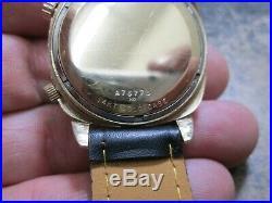 Bulova Accutron Astronaut Mark II Watch 14k Gold Running Very Nice