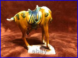 Chinese Tang Dynasty Terracotta HorsesSet of 5Very Nice