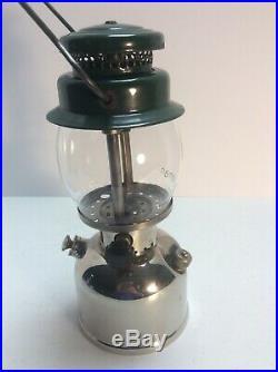 Coleman Lantern 242 JR. Green LETTERED Globe 11/1933 Very NICE And Very RARE