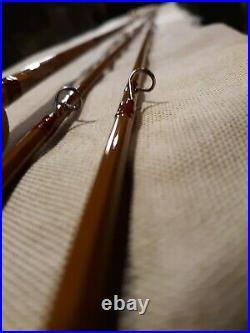 Custom split bamboo fly rod. Very Nice. 7ft 6in. 4wt. Hand made 2pc