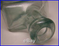 DR. KILMER'S Oceanweed Heart Remedy Antique Embossed Bottle Very Nice