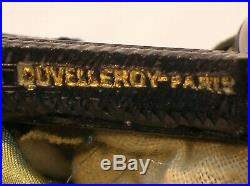 DUVELLEROY PARIS VICTORIAN FANCY EVENING BAG WithGUTTA PERCHA FITTINGS VERY NICE