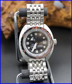 Doxa Vintage Us Divers Aqua-lung Sharkhunter Sub 300t 1970's! Very Nice