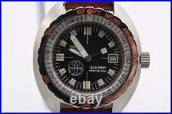 Doxa Vintage Us Divers Aqua-lung Sharkhunter Sub 300t 1970's! Very Nice