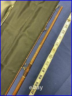 Fenwick PLC60 6' Casting Rod / Orig. Case, F48705 From 1965/66. Sock/ Very Nice