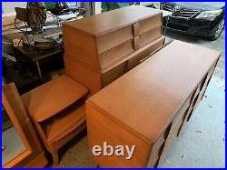 HEYWOOD WAKEFIELD CHAMPAGNE FULL SIZE 7 Piece BEDROOM SET VERY NICE