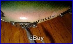 Heddon 740 Punkinseed Bluegill In Very Nice Condition