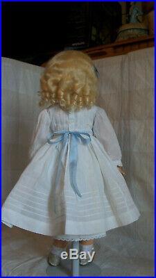 Heinrich Handwerck 18 blue eye Daisy doll correct markings very nice