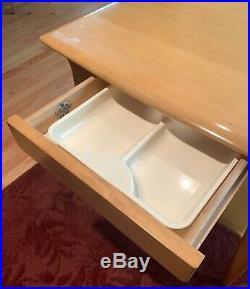 Heywood Wakefield'56-'57 Large Lamp Table M1583 OG Wheat Finish! Very Nice