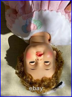 Ideal Suzy Playpal Doll Reddish Blond Hair Patti's Baby Sister. Very Nice