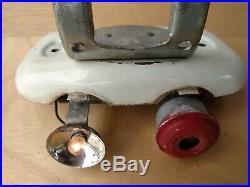J C Higgins Batwing bar mount hornlight vintage 50s original very nice condition