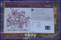 Karastan Rug English Manor Cambridge 2120-00502. 8x10.5 Very Nice #834