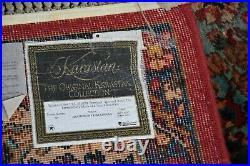 Karastan Rug Original Collection 700/717 Panel Kirman 8.8x10.6 Very Nice #030421