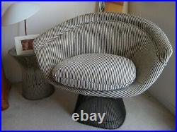 Knoll warren platner chair Very Nice